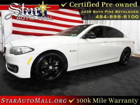 2015 BMW 5 Series for sale at STAR AUTO MALL 512 in Bethlehem PA