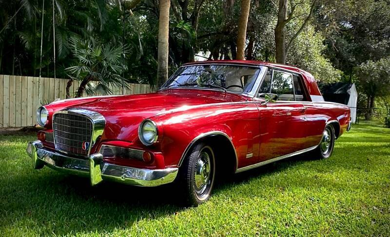 1963 Studebaker Hawk for sale at Suncoast Sports Cars and Exotics in West Palm Beach FL