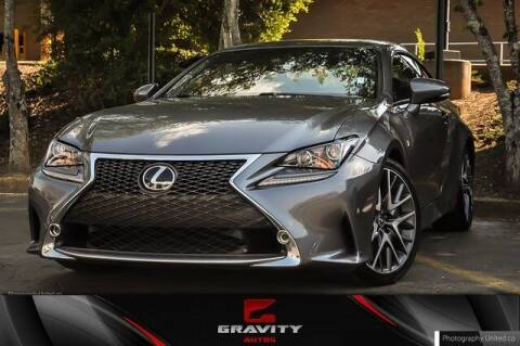 2017 Lexus RC 350 for sale at Gravity Autos Atlanta in Atlanta GA