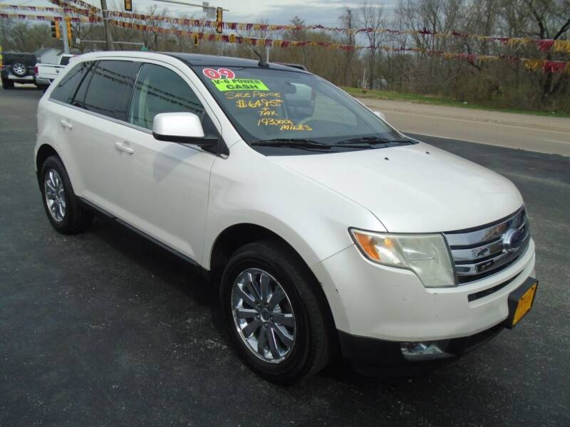 2009 Ford Edge for sale at River City Auto Sales in Cottage Hills IL