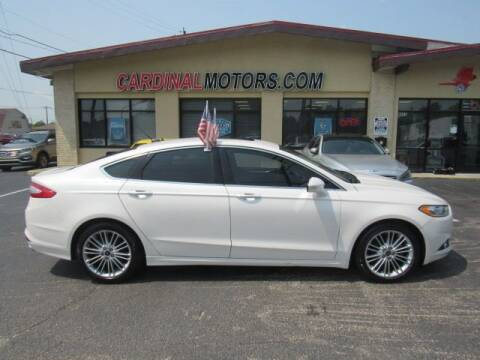 2016 Ford Fusion for sale at Cardinal Motors in Fairfield OH