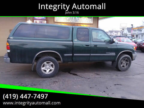 2000 Toyota Tundra for sale at Integrity Automall in Tiffin OH