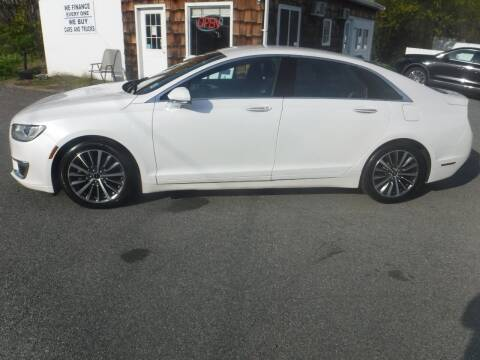 2017 Lincoln MKZ Hybrid for sale at Trade Zone Auto Sales in Hampton NJ