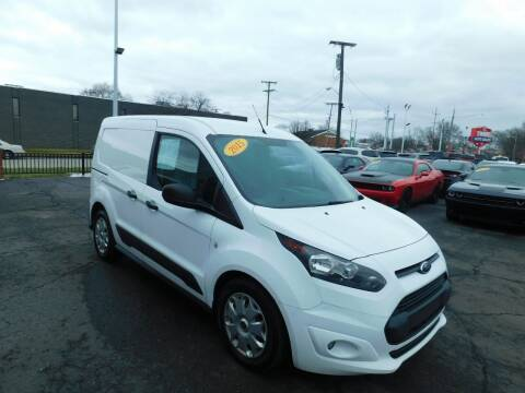 2015 Ford Transit Connect Cargo for sale at Twins Auto Sales Inc Redford 1 in Redford MI