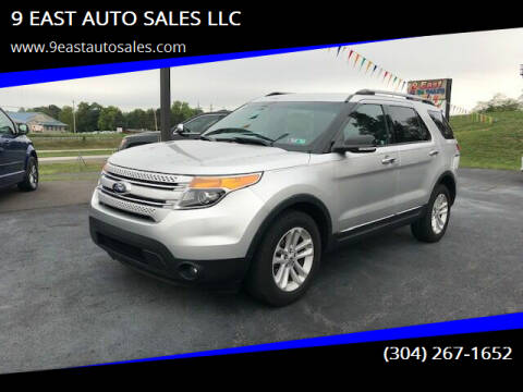 2013 Ford Explorer for sale at 9 EAST AUTO SALES LLC in Martinsburg WV
