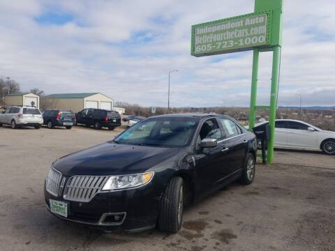 2010 Lincoln MKZ for sale at Independent Auto in Belle Fourche SD