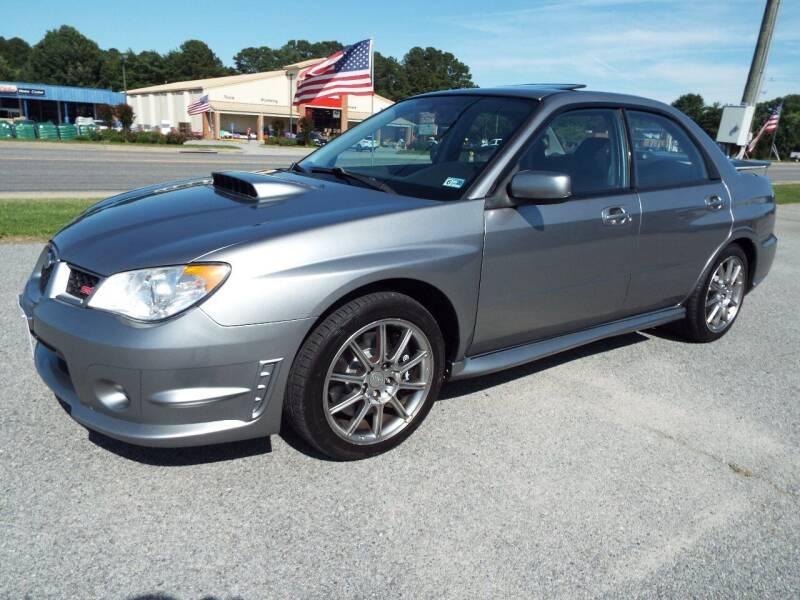 2007 Subaru Impreza for sale at USA 1 Autos in Smithfield VA