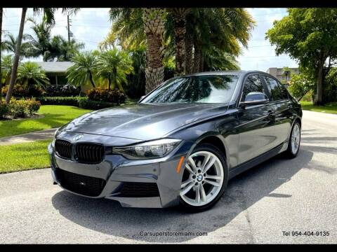 2016 BMW 3 Series for sale at HD CARS INC in Hollywood FL
