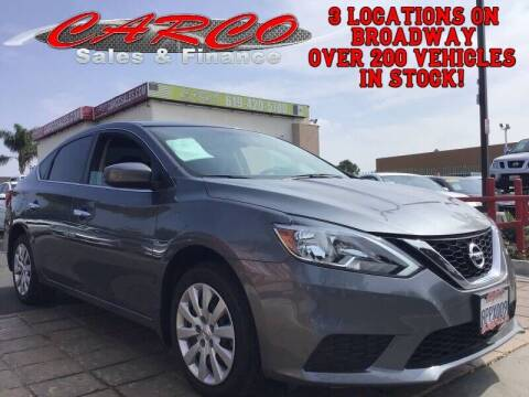 2019 Nissan Sentra for sale at CARCO SALES & FINANCE #3 in Chula Vista CA