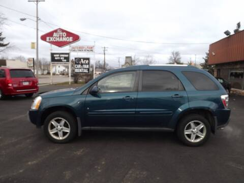 2006 Chevrolet Equinox for sale at The Auto Exchange in Stevens Point WI