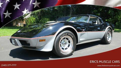 1978 Chevrolet Corvette for sale at Erics Muscle Cars in Clarksburg MD