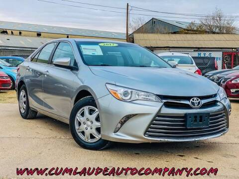 2017 Toyota Camry for sale at MAGNA CUM LAUDE AUTO COMPANY in Lubbock TX
