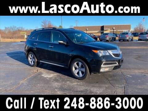 2012 Acura MDX for sale at Lasco of Waterford in Waterford MI