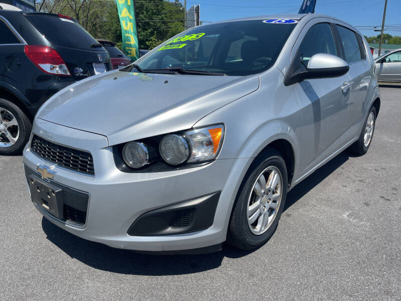 2015 Chevrolet Sonic for sale at Cars for Less in Phenix City AL