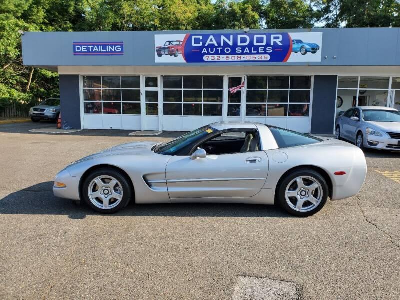 1998 Chevrolet Corvette for sale at CANDOR INC in Toms River NJ