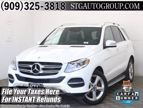 2018 Mercedes-Benz GLE for sale at STG Auto Group in Montclair CA