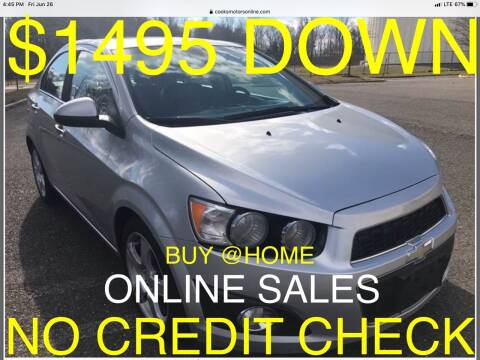 2012 Chevrolet Sonic for sale at Cooks Motors in Westampton NJ