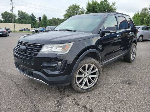 2016 Ford Explorer for sale at Cruisin' Auto Sales in Madison IN