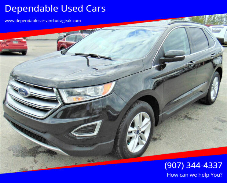 2015 Ford Edge for sale at Dependable Used Cars in Anchorage AK