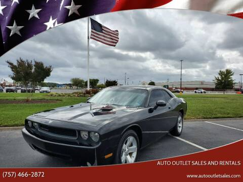 2009 Dodge Challenger for sale at Auto Outlet Sales and Rentals in Norfolk VA