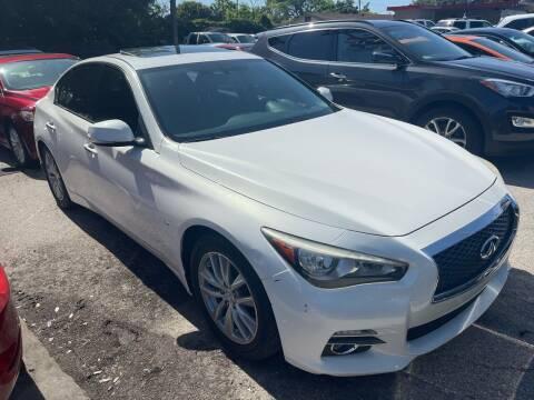 2014 Infiniti Q50 for sale at P J Auto Trading Inc in Orlando FL