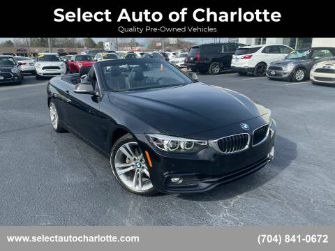 2018 BMW 4 Series for sale at Select Auto of Charlotte in Matthews NC