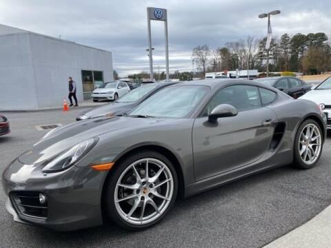 2014 Porsche Cayman for sale at Southern Auto Solutions - Georgia Car Finder - Southern Auto Solutions-Jim Ellis Volkswagen Atlan in Marietta GA