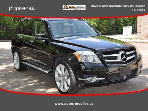 2010 Mercedes-Benz GLK for sale at AUTOS-MOBILES in Houston TX