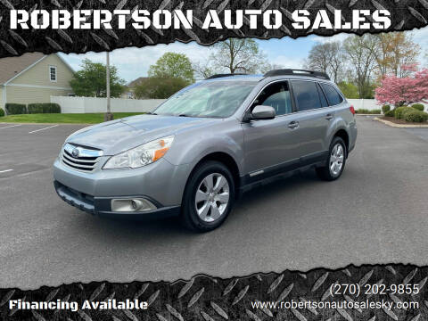 2011 Subaru Outback for sale at ROBERTSON AUTO SALES in Bowling Green KY