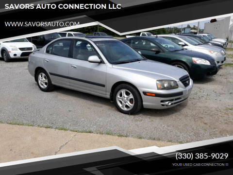 2002 Hyundai Elantra for sale at SAVORS AUTO CONNECTION LLC in East Liverpool OH