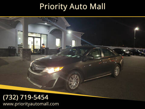 2012 Toyota Camry for sale at Mr. Minivans Auto Sales - Priority Auto Mall in Lakewood NJ