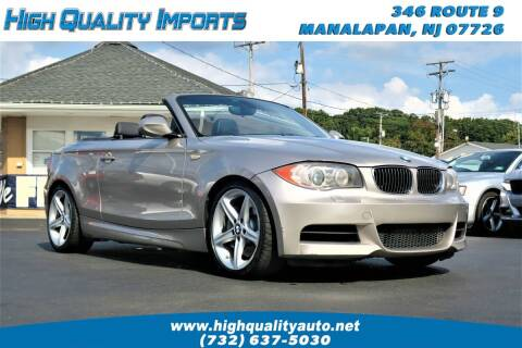 2011 BMW 1 Series for sale at High Quality Imports in Manalapan NJ