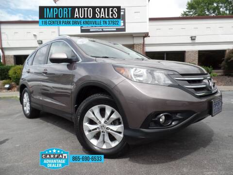 2013 Honda CR-V for sale at IMPORT AUTO SALES in Knoxville TN