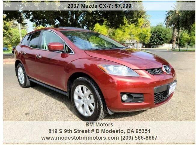 2007 Mazda CX-7 for sale at BM Motors in Modesto CA