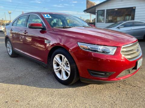 2016 Ford Taurus for sale at Universal Auto INC in Salem OR