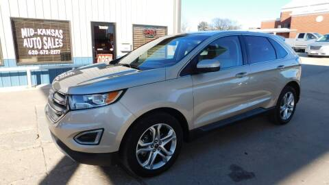 2018 Ford Edge for sale at Mid Kansas Auto Sales in Pratt KS
