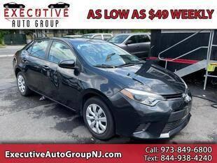 2015 Toyota Corolla for sale at Executive Auto Group in Irvington NJ