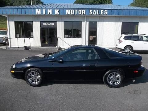 2002 Chevrolet Camaro for sale at MINK MOTOR SALES INC in Galax VA