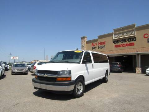 2017 Chevrolet Express Passenger for sale at Import Motors in Bethany OK