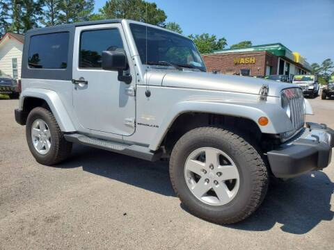 2008 Jeep Wrangler for sale at Rodgers Wranglers in North Charleston SC