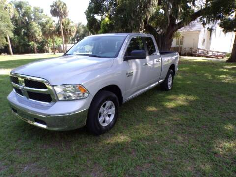 2018 RAM Ram Pickup 1500 for sale at LANCASTER'S AUTO SALES INC in Fruitland Park FL