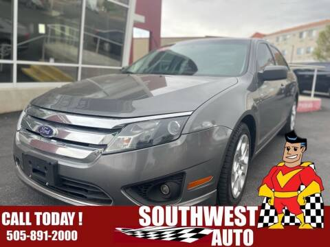 2010 Ford Fusion for sale at SOUTHWEST AUTO in Albuquerque NM