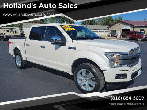 2019 Ford F-150 for sale at Holland's Auto Sales in Harrisonville MO