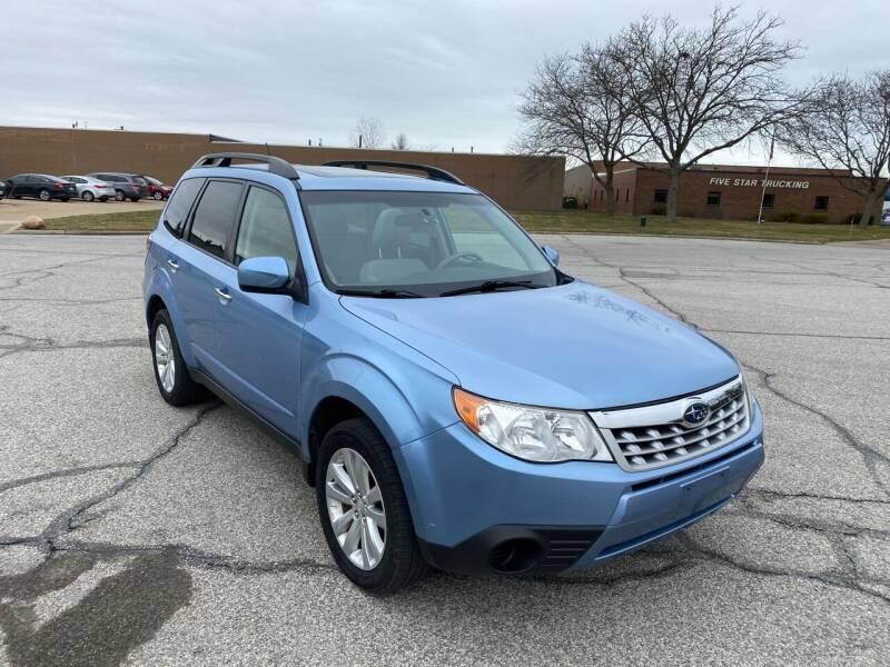2011 Subaru Forester for sale at JE Autoworks LLC in Willoughby OH