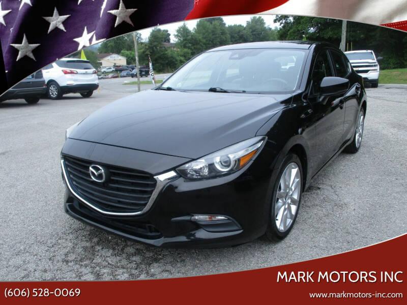 2017 Mazda MAZDA3 for sale at Mark Motors Inc in Gray KY