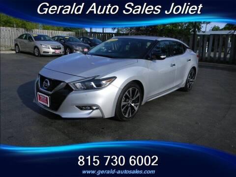 2018 Nissan Maxima for sale at Gerald Auto Sales in Joliet IL