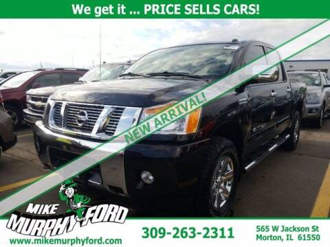 2014 Nissan Titan for sale at Mike Murphy Ford in Morton IL