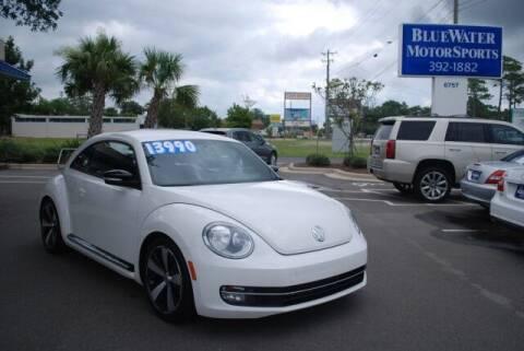 2012 Volkswagen Beetle for sale at BlueWater MotorSports in Wilmington NC
