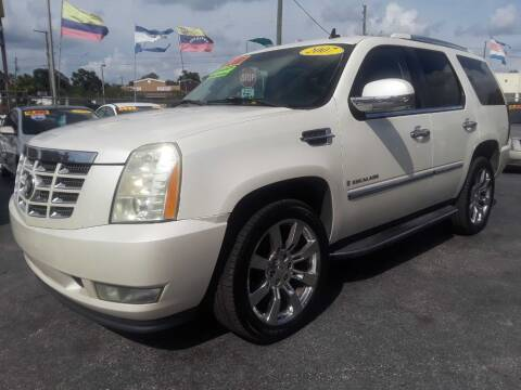 2007 Cadillac Escalade for sale at AUTO IMAGE PLUS in Tampa FL