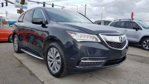 2015 Acura MDX for sale at Seattle's Auto Deals in Seattle WA